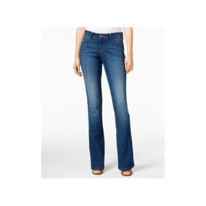 Style & Co Womens 8 Short Curvy-Fit Bootcut Jeans